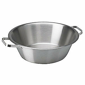 VOLLRATH Stainless Steel Utility Pan, Cap 24 Qt, 72240
