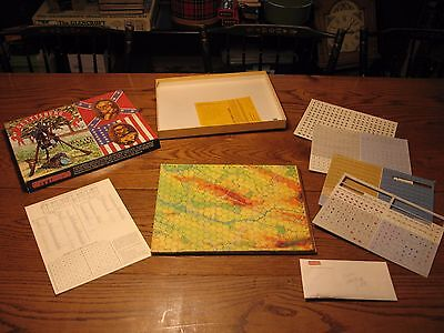 Vintage Gettysburg Battle Game The Avalon Hill Game Company