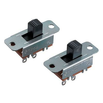 Heavy Duty SPST Slide Switches, 6A 125VAC