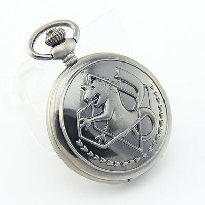 Japanese anime Fullmetal Alchemist Edward Pocket Watch Free shipping -10