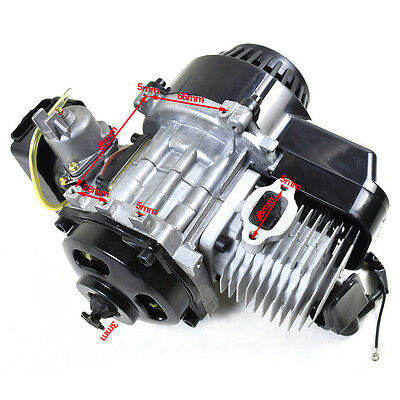 49cc Pull Start Engine Motor ATV Quad Dirt Pocket Chopper Go kart za01