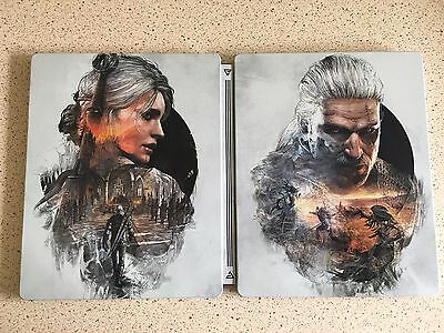 The Witcher 3 Wild Hunt Steelbook Game Case - Case Only - G1 (PC)