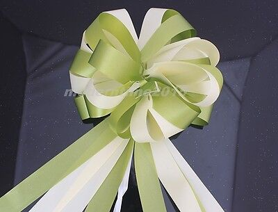 1pc Ribbon Pull Flower Bows Wedding Car Party Christmas Decoration Ribbon Gifts