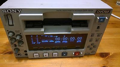 Sony DSR-1500A DVCAM Digital Videocassette Recorder Editing Deck