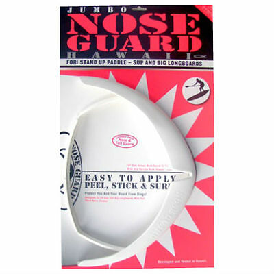 SUP JUMBO NOSE & TAIL GUARD COMBO, SUP Nose & Tail Protector, SAVE $$, White NEW