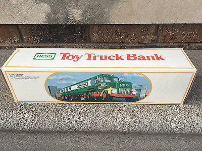 1984 Hess Truck Bank - Excellent Condition in Original Box