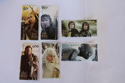 2003 Lord Of The Rings Return Of The King Stamps