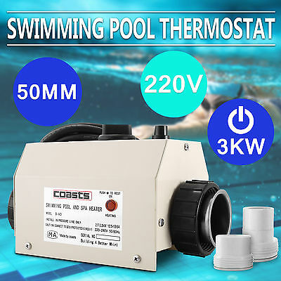 Thermostat Swimming Pool Heater Portable Bath Spa Au Stock Strong Packing