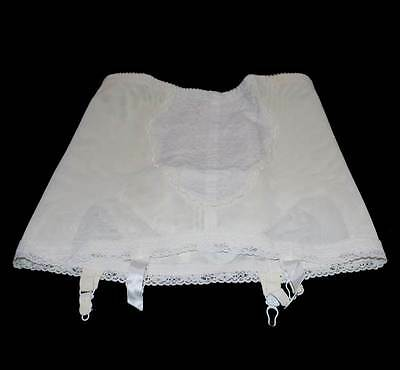 Vintage Hickory Size 20 lace stretch foundation girdle with suspenders
