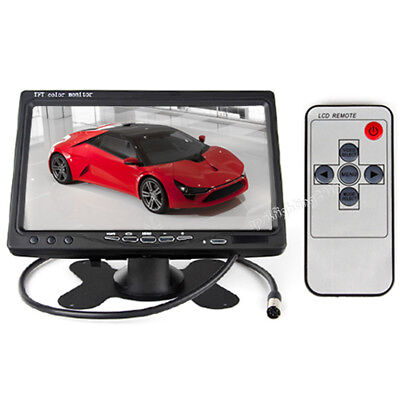 "7"" TFT Color Screen LCD Car Rear View Headrest Monitor For Car Reversing Camera"
