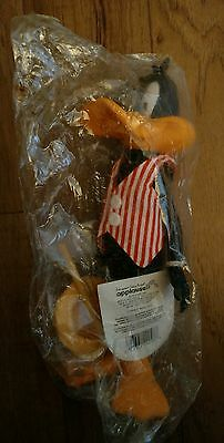 """NEW 1990 Applause 9"""" Looney Tunes Collector Doll Figure Vaudeville Daffy Duck"""
