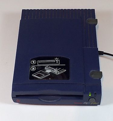 Iomega Zip 100 Plus Z100PLUS SCSI Parallel Port External Zip Drive Only No Cords