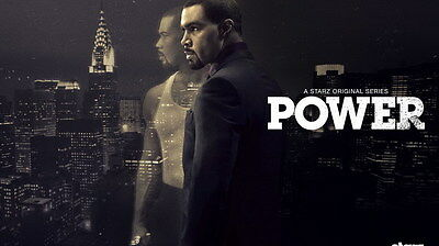 "006 Power - Omari Hardwick Action Thriller USA TV Show 42""x24"" Poster"