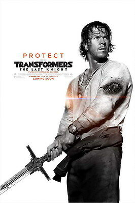 """029 Transformers 5 - The Last Knight 2017 Action Movie 24""""x36"""" Poster"""