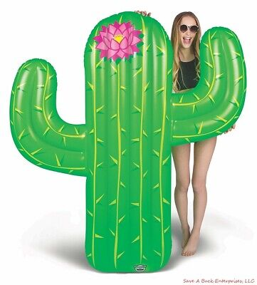 BigMouth Inc - 5 FOOT GIANT CACTUS  Inflatable Swimming Pool Float Raft Summer