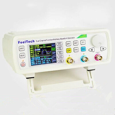 50MHz Dual Channel DDS Function Arbitrary Waveform Signal Generator Pulse Source