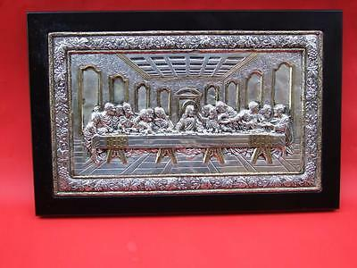 Precise Copy of Byzantine Icon From Last Pure Silver 950* Vintage