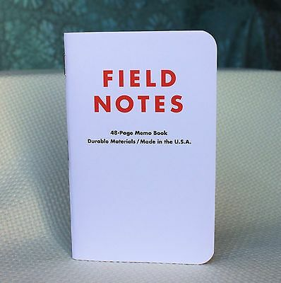 Field Notes Brand White TED˟ Portland Edition Notebook