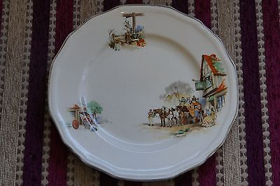 Alfred Meakin 'coaching Days' Side Plate