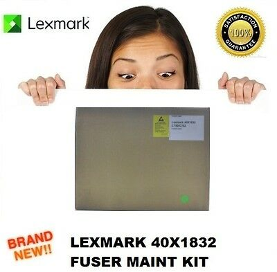 Brand New Lexmark 40X1832 Fuser Maintenance Kit C772 C780 C782