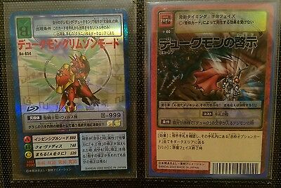 Japanese Digimon Holo Card Dukemon Crimson Mode