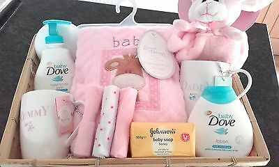 gift basket for baby girl Baby Dove Johnsons