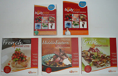 BodyTrim Weightloss Package, DVD's, Reference Manual and 3 x Body Trim Cookbooks