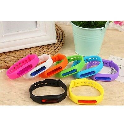 Outdoor Camping Anti Mosquito Repellent Bracelet Insect Repeller Wrist Band AU