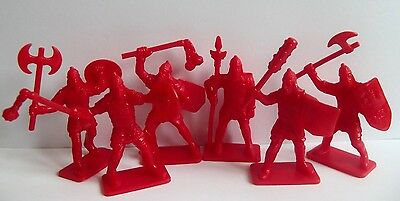 Plastic toy soldiers. Russian knights 54mm. 1/32 scale