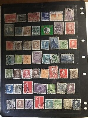stamps  Denmark - MH and Used - Lot 33