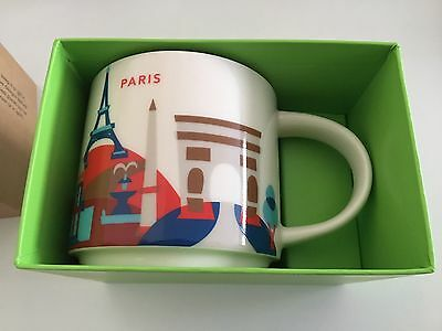"Starbucks Tasse Paris ""You Are Here"" Collection Mug"