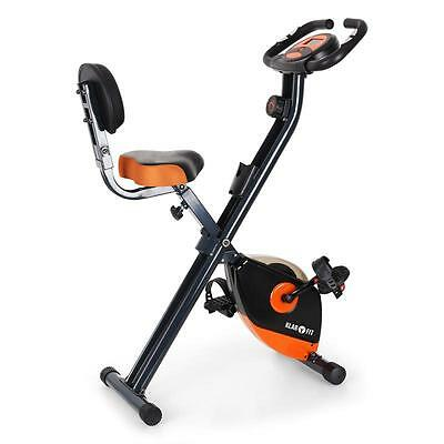 Brand New Cardio Exercise Heart Rate Bicycle Lcd Orange/black Foldable Transport