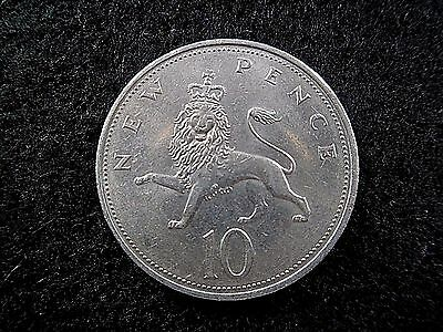 1973 10 New Pence  lion and crown design Take a look