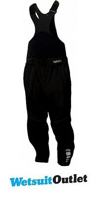 Yak Moray High Chest Dry Kayak Trousers in BLACK 6858