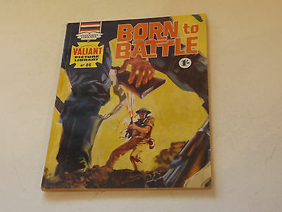 VALIANT PICTURE LIBRARY,NO 86,1966 ISSUE,V GOOD FOR AGE,51 yrs old,V RARE COMIC