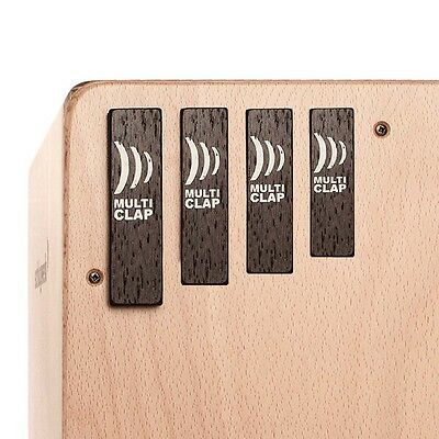 Schlagwerk MC40 Multiclap 4er Set Cajon-Add on Percussion