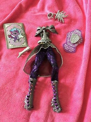 💜Ever After High Raven Queen Dragon Games Complete Doll Outfit Brand New!!💜