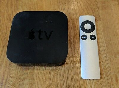 Apple TV 3rd Generation Used with Remote, Power and HDMI Cable