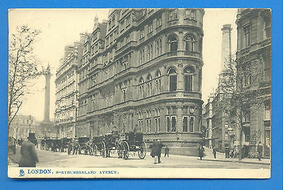 London.northumberland Avenue.tucks View Postcard Posted 1904