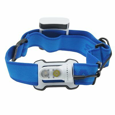 Silva Waterproof Outdoor Performance Running Led Head Torch Rrp 49.99 - Blue