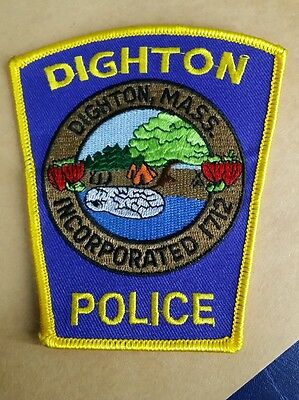Dighton, Massachusetts Police Shoulder Patch Ma 2