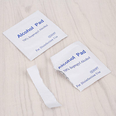 100PCS Disinfection Cotton Sterilization Alcohol Pads Medical Clean Wipe