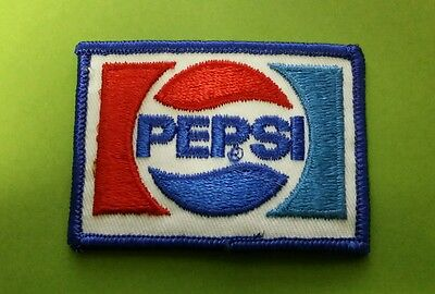 VINTAGE PEPSI COLA Sew-On Patch
