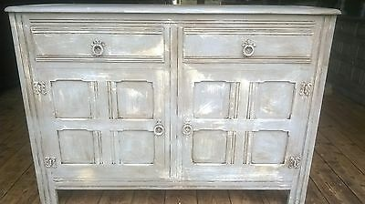 French grey, rustic, distressed, sideboard, dresser, cabinet