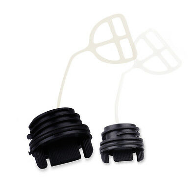 Oil Cap & Fuel Tank Cap Set for Husqvarna 50 51 55 136 137 141 142 254 Chainsaw
