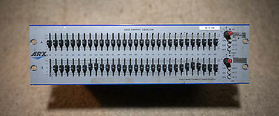 ARX EQ60 Dual 31 band 1/3 Octave Graphic EQ