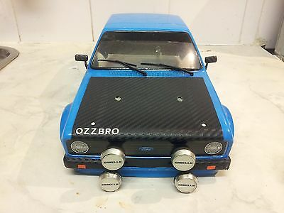 Ford Escort MK2 RS 1800 RC Rally Body Shell 1/10