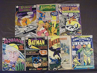 DC Silver-Age lot2...28 issues...Showcase,Batman,World's Finest,Challengers,Six+