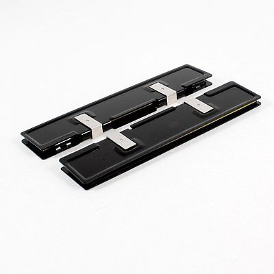 2 x Aluminum Heatsink Shim Spreader Cooler Cooling for DDR RAM Memory CT B3 R4S2