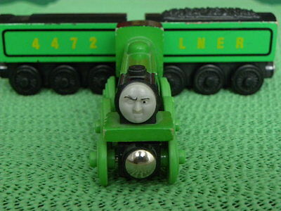 FLYING SCOTSMAN for Thomas & Friends Wooden Railway & BRIO TRAIN ENGINE SETS